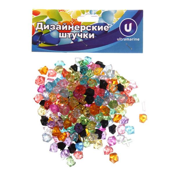 Украшение декоративное ″Кристаллы″ 100гр разноцветные купить оптом и в розницу