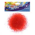 Украшение декоративное песок для дизайна ″Кристаллы″ 100гр красный купить оптом и в розницу