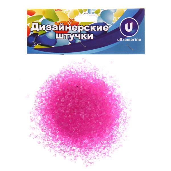 Украшение декоративное песок для дизайна ″Кристаллы″ 100гр розовый купить оптом и в розницу