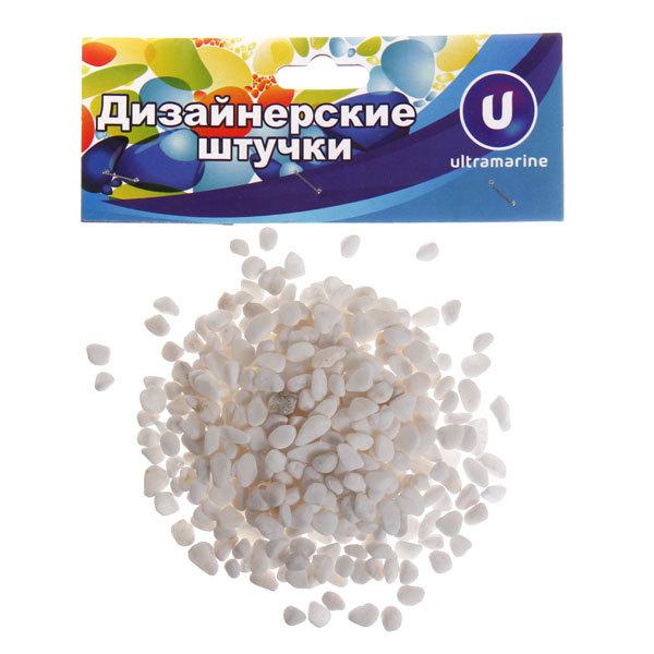 Украшение декоративное ″Камни мелкие″ 100гр белые купить оптом и в розницу