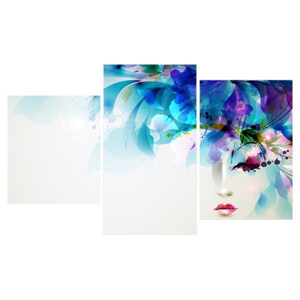 Картина модульная триптих 55*96 Абстракция диз.7 103-01 купить оптом и в розницу