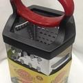 Терка 6-ти сторонняя металлическая 25*14см без контейнера купить оптом и в розницу