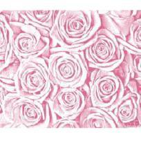 ПЦ-3502-2141 полотенце 70х130 махр п/т Pink Roses цв.10000 купить оптом и в розницу