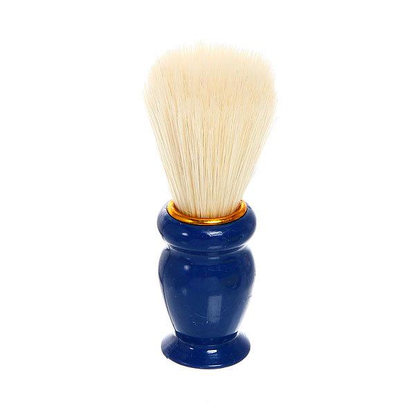 Помазок для бритья, белый ворс, цвет ручки микс 10см купить оптом и в розницу