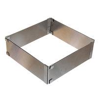 Кулинарная форма квадратная регулируемая 15*15*5см , AN8-29 купить оптом и в розницу