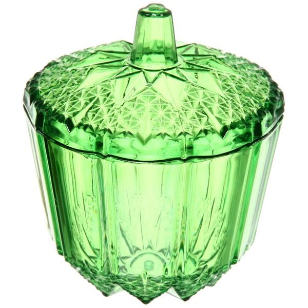 Сахарница 200мл ″Ажур″ зеленая купить оптом и в розницу