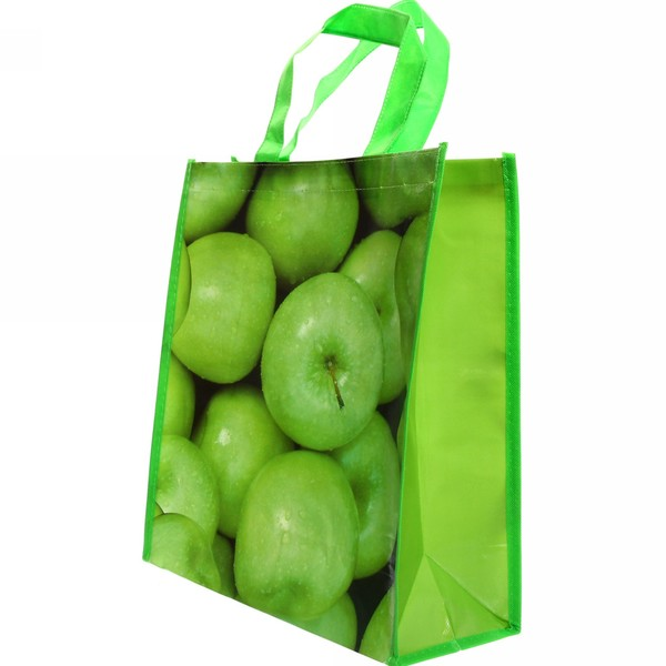 Сумка хозяйственная 32*36,5*15,5 ″Яблоки″ купить оптом и в розницу