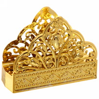 Салфетница ″Восток″ 12*9*4см золото купить оптом и в розницу