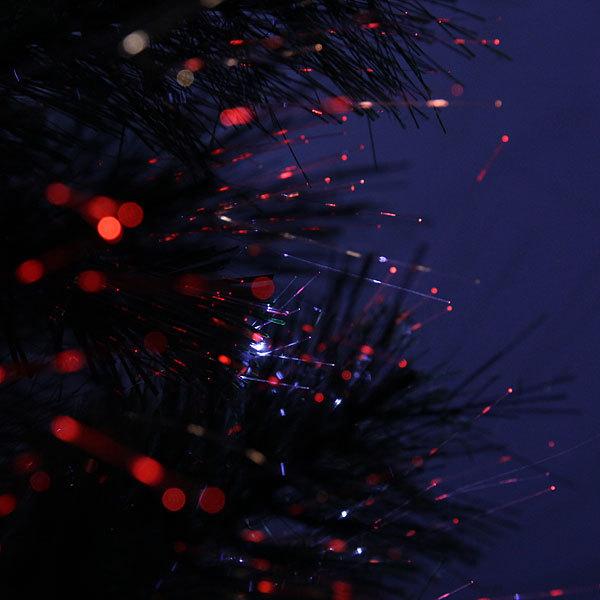 Елка светодиодная 120 см оптоволокно + 20 LED белых WSZW2-4 купить оптом и в розницу