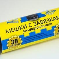 мешки д/мусора в рулоне 20л/30шт. (крепакоф) 1*50 купить оптом и в розницу