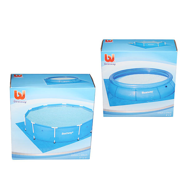 Ковер для надувных и каркасных круглых бассейнов 335*335 см Bestway (58001) купить оптом и в розницу