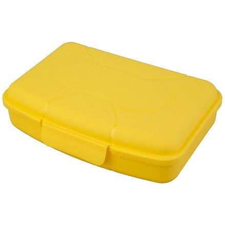 Ланч-бокс пластиковый 0,42л *28 купить оптом и в розницу