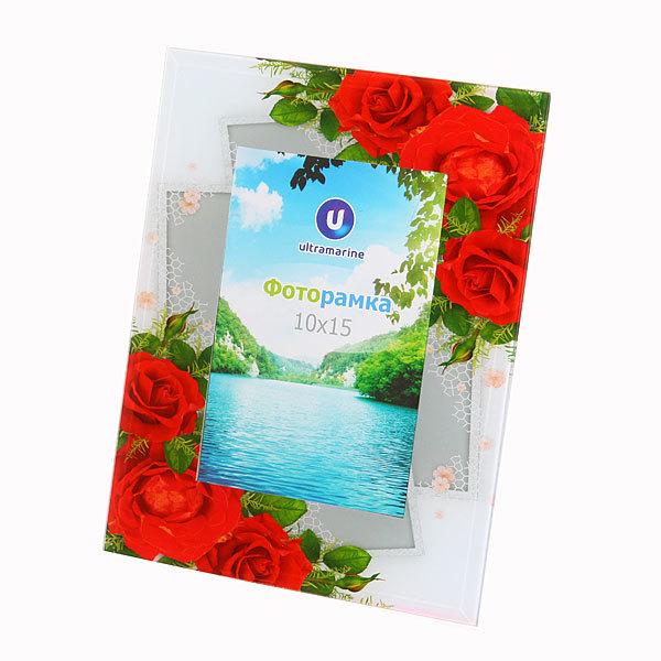 Фоторамка ″Цветочный рай″ 10*15 C-007 купить оптом и в розницу