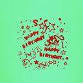Летящее желание ″Кристалл″ HAPPY BIRTHDAY 85*46см купить оптом и в розницу