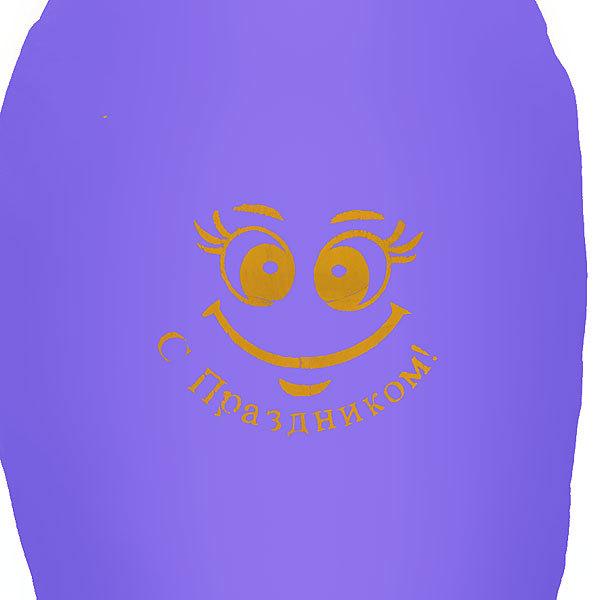 Летящее желание ″Кристалл″Смайлик с Праздником 85*46см купить оптом и в розницу