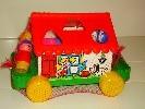 Логич.игрушка Домик игровой в сетке 6202 /П-Е/9/ купить оптом и в розницу