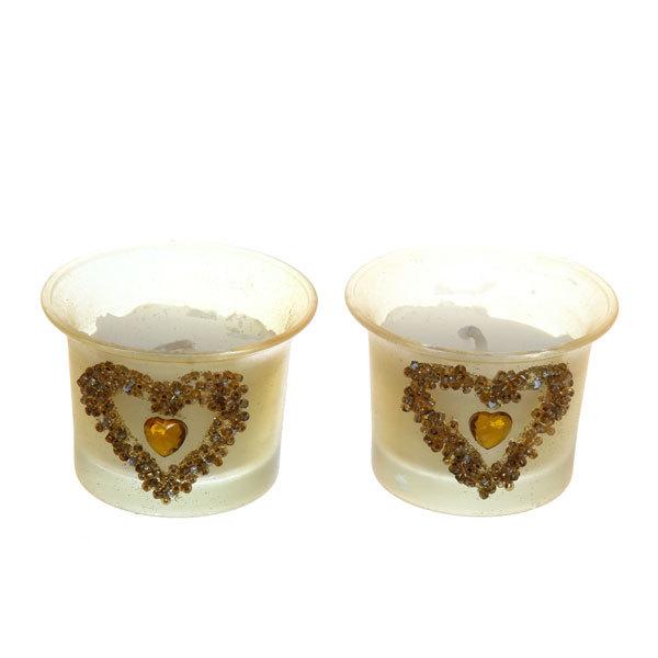Свеча ″ С любовью ″ 2 шт 10-65313 купить оптом и в розницу