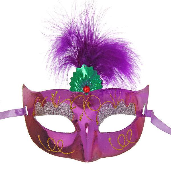 Маска карнавальная пластиковая ″Мерцание″ 2441-8 купить оптом и в розницу