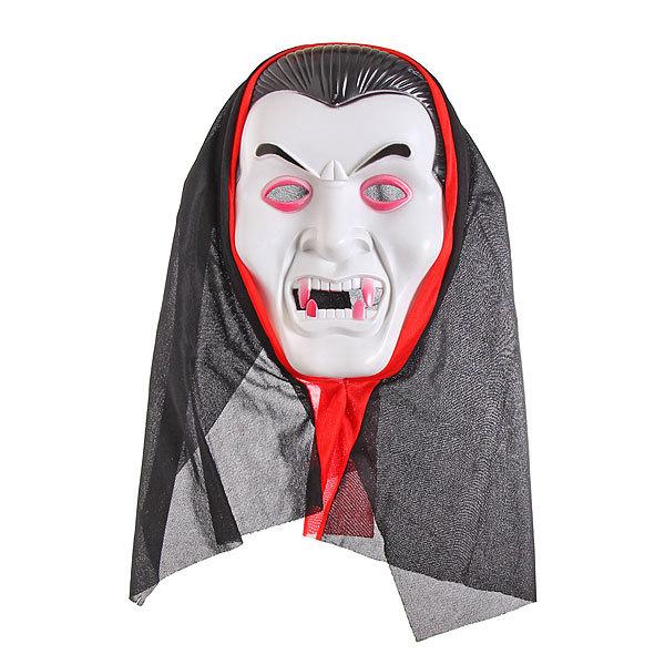 Маска карнавальная пластиковая пластиковая ″Мистер Дракула″ купить оптом и в розницу