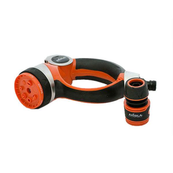 Наконечник для полива Premium(7 позиций-регулятор)+коннектор1/2 ARIOLA купить оптом и в розницу