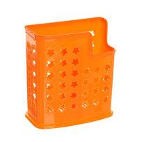 Подставка для столовых приборов 14*12*6см пластиковая, 2 секции 114 купить оптом и в розницу