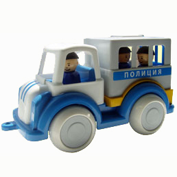 Автомобиль Детский сад полиция С-161-Ф /6/ купить оптом и в розницу