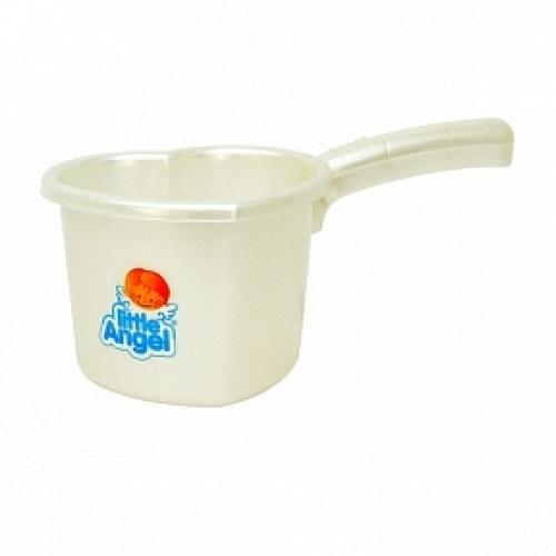 Ковшик для детской ванночки белый перламутр *32 купить оптом и в розницу