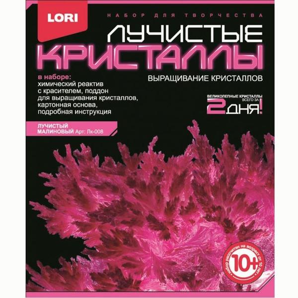 Набор ДТ Лучистые кристаллы Малиновый кристалл Лк-008 Lori купить оптом и в розницу