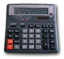Калькулятор CITIZEN настольный 14раз 156*156*31,3мм купить оптом и в розницу