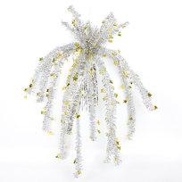 Серпантин Украшение новогоднее фольгированное Фейерверк 75 см со звездочками купить оптом и в розницу