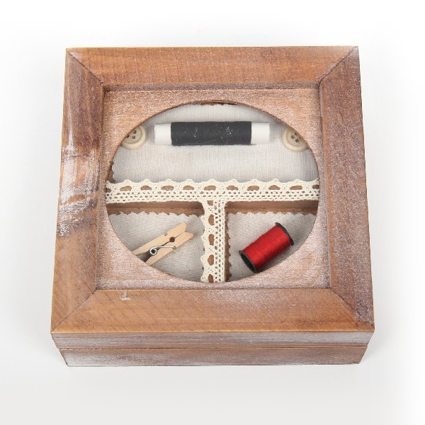 Шкатулка ″Для швейных принадлежностей″ 15*15*6,5 см Д купить оптом и в розницу