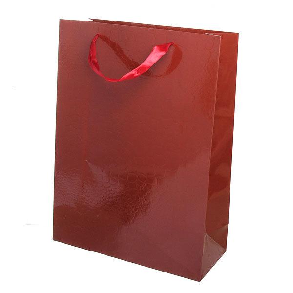 Пакет подарочный ″Элегантный″ 40*30*9 4003В коричневый купить оптом и в розницу