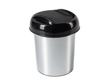 """Контейнер для мусора """"Ориджинал"""" 1 л Декор Металл*30 купить оптом и в розницу"""
