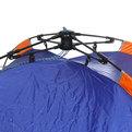 Палатка кемпинговая 3-местная 1-слойная зонтичного типа, цвет сине-оранжевый, ТУРИСТ МАСТЕР, 200х200х135 купить оптом и в розницу
