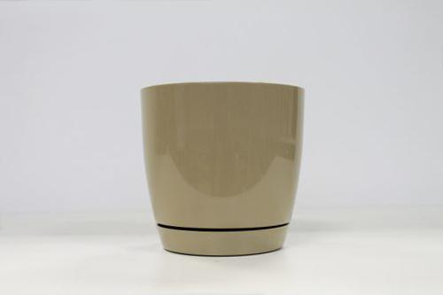 Кашпо Тоскана кругл .кофе латте 15 2,2 л.. *10 Form plastic купить оптом и в розницу