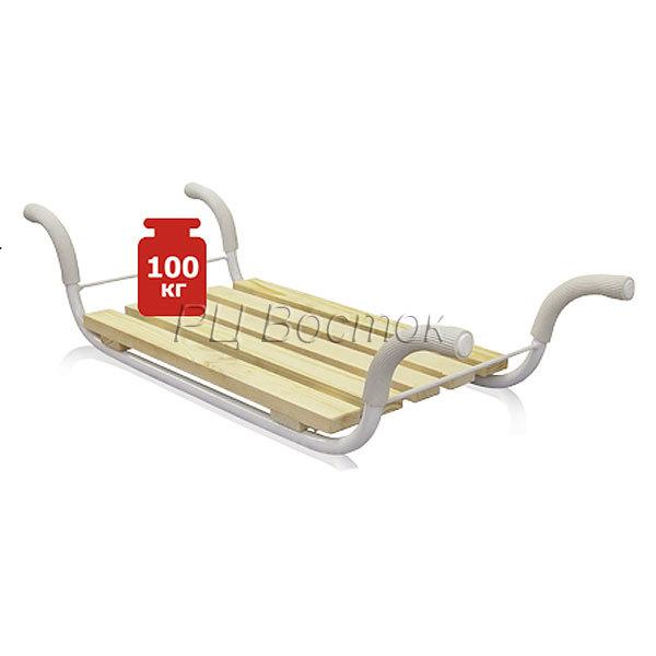 Сиденье в ванну ″Классик″ НИКА (мет.каркас, 5 реек) купить оптом и в розницу
