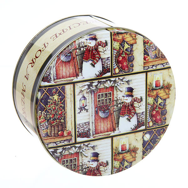 Набор банок жестяных 3шт ″Новогодние-1″ (400,700,1500мл) купить оптом и в розницу