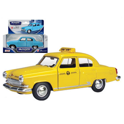 Модель ГАЗ-21 Волга желтое такси 34107 1:43 купить оптом и в розницу