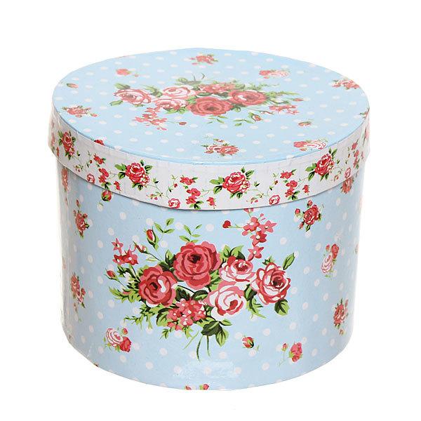 Набор чайный керамический 3 предмета (чайник 250мл +чайная пара200мл) ″Розы″ голубой купить оптом и в розницу