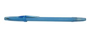 """Ручка шар.YIWU """"Pastel"""" 0,7мм синяя, голубой корпус купить оптом и в розницу"""
