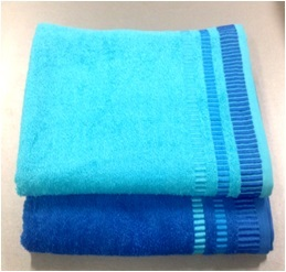 Полотенце 50х90 Spany home Nice цв.голубой купить оптом и в розницу