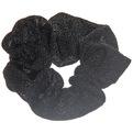 Резинка для волос люрекс черный цв 591-13 купить оптом и в розницу