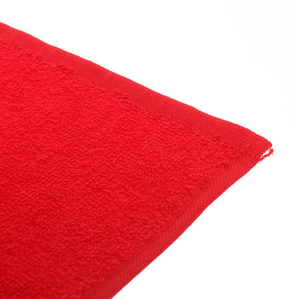 Салфетка махровая 30*30см Красная купить оптом и в розницу