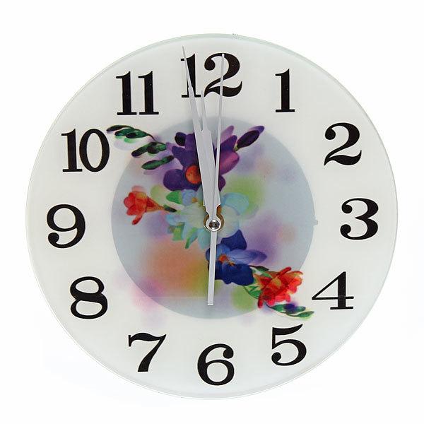 Часы настенные ″Весенний микс″ d-25см 7 купить оптом и в розницу