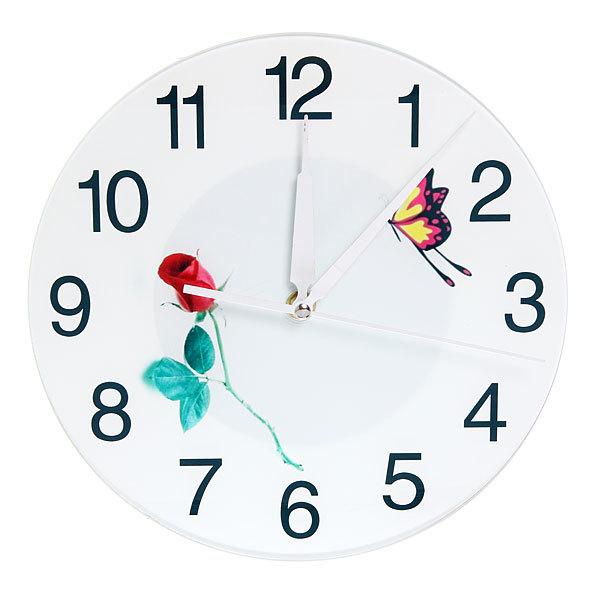 Часы настенные ″Весенний микс″ d-25см 8 купить оптом и в розницу