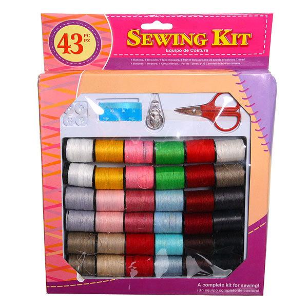 Швейный набор ″Рукодельница″ с нитками 3м. 398-1 купить оптом и в розницу