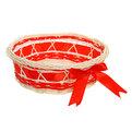 Корзина декоративная плетеная (3шт) (7*24; 6*19; 5*16) 170 купить оптом и в розницу