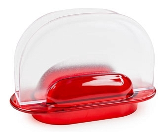 Салфетница  Санти  (красный) *24 купить оптом и в розницу