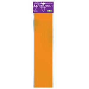 """Бумага крепированная 50*250см, АЛЬТ,""""Цветная"""", оранжевая купить оптом и в розницу"""