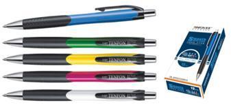 Ручка шар.авт.Tenfon 0,7мм синяя ассорти купить оптом и в розницу